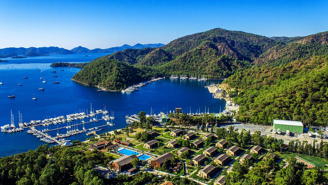 Cruisen in Gocek Bays